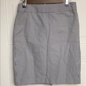 Banana Republic Railroad Stripe pencil Skirt 2